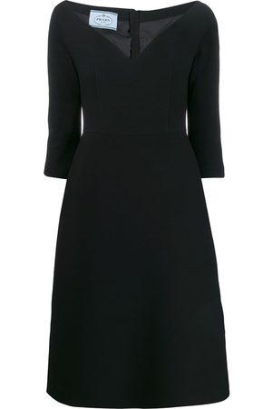 Prada Mid-length v-neck dress