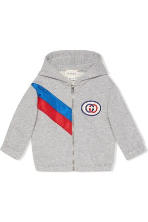 Gucci Sweaters - Ribbon zip-up hoodie