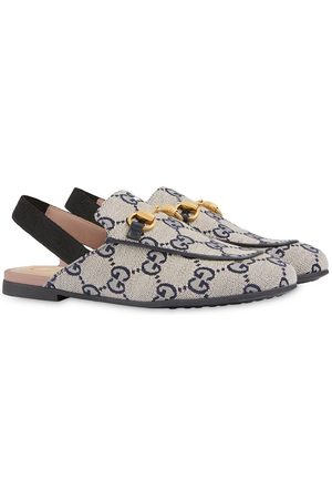 Gucci Princetown GG slingback slippers