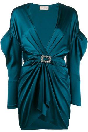 ALEXANDRE VAUTHIER Ruched cocktail mini dress