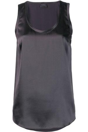 Brunello Cucinelli Sleeveless shift blouse