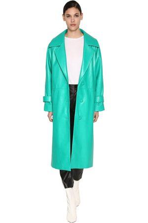 DROME Dames Lange leren jassen - Long Leather Coat