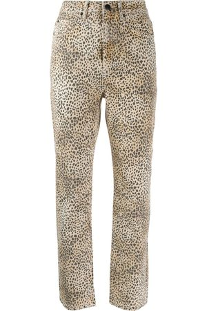 Alexander Wang Cheetah print trousers