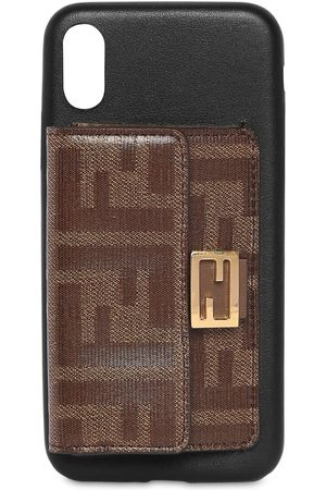 Fendi Dames Telefoon - Leather I Phone X Cover