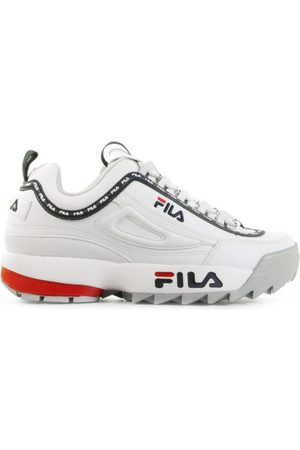 Fila Disruptor Logo Low White Damessneakers