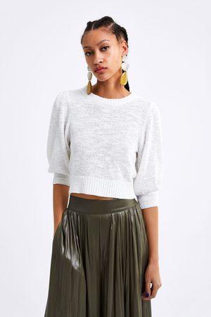 Zara Cropped tricot top