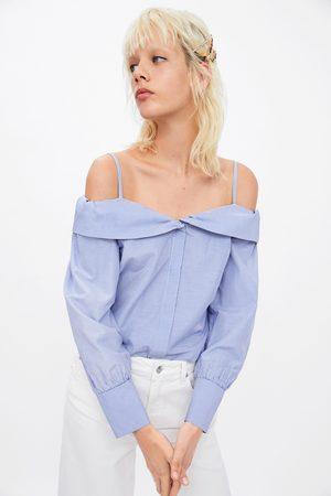 Zara Top met blote schouders