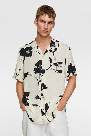 Zara Heren Hemden - Overhemd met bloemenprint