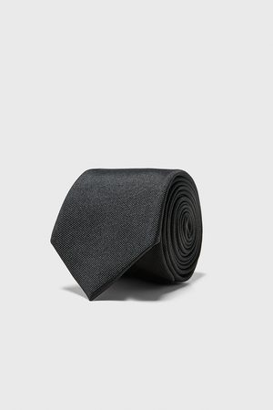 Zara Heren Stropdassen - Brede ottoman stropdas