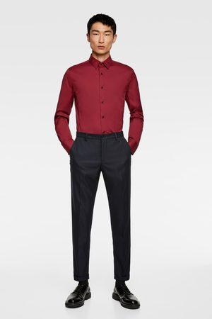 Zara Heren Hemden - Basic overhemd in extra slim fit