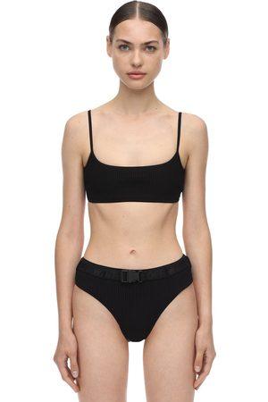 OFF-WHITE Dames Bikini's - Belted Ribbed Bikini