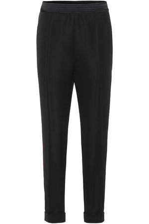 Haider Ackermann High-rise straight wool pants
