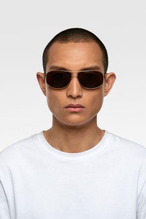 Zara Ovalen zonnebril