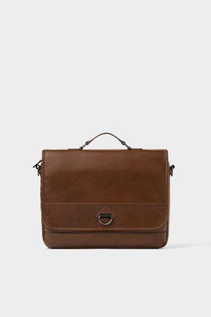 Zara Elegante bruine schoudertas