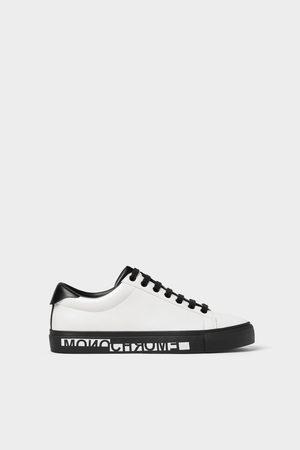 Zara Sneakers met lettering