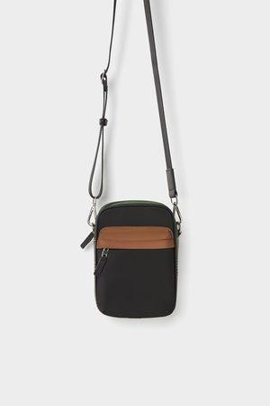 Zara Minischoudertas met geruit detail