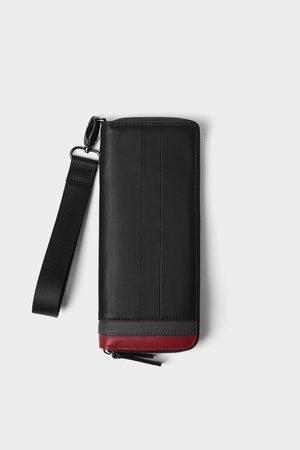 Zara Oversized portefeuille met kleurcontrast