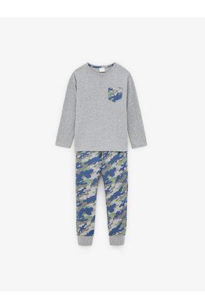 Zara Pyjama met camouflageprint