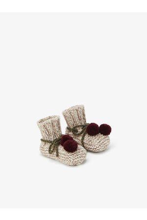 Zara Tricot laarsjes met pompons