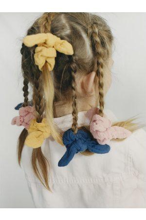 Zara Set van drie haarelastiekjes met textuur
