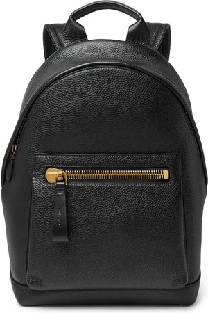 Tom Ford Heren Rugzakken - Full-grain Leather Backpack