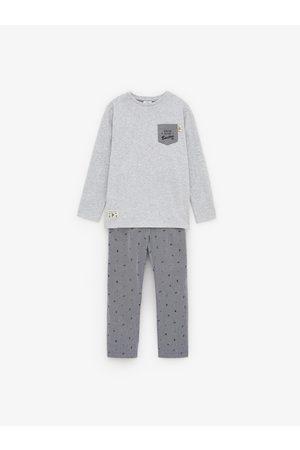 Zara Popeline pyjama boston