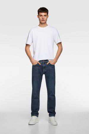 Zara Basic jeans in slim straight