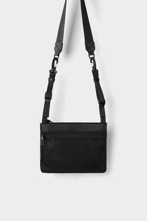 Zara Praktische zwarte minischoudertas