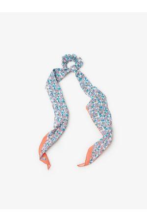 Zara Haarelastiekje met sjaaltje met print