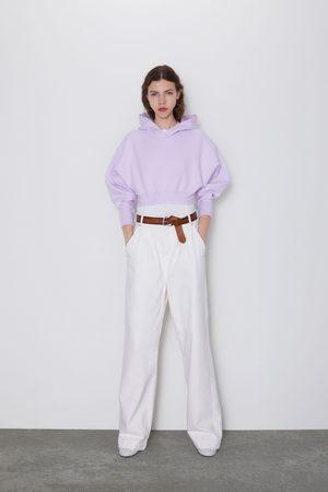 Zara Tricot sweatshirt met capuchon