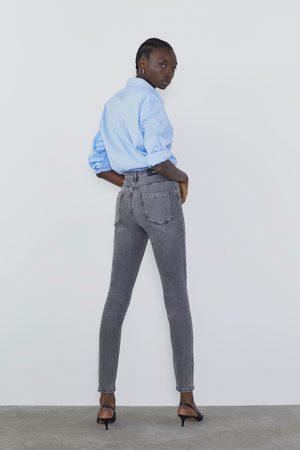 Zara Skinny jeans z1975 met hoge taille