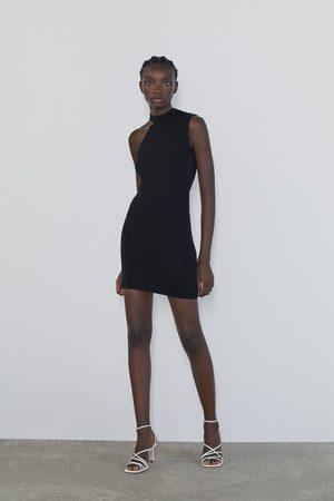 Zara Opengewerkte mini-jurk