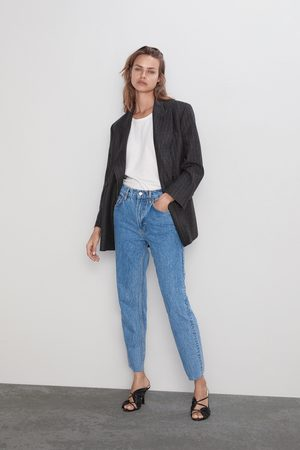 Zara The slim straight jeans zw premium