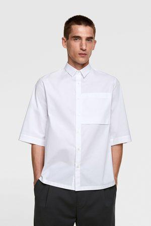 Zara Overhemd met korte mouwen