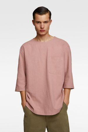 Zara Rustiek combi-overhemd