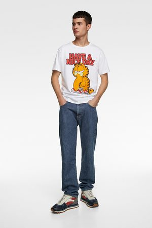Zara T-shirt met garfield ©paws inc.