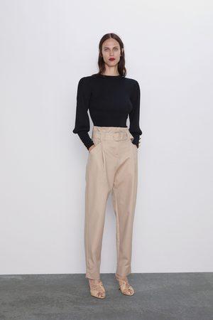 Zara Slouchy broek met ceintuur