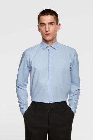 Zara Overhemd met vichy ruit
