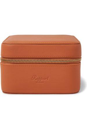 Rapport London Heren Horloges - Hyde Park Zip-Around Leather Watch Box