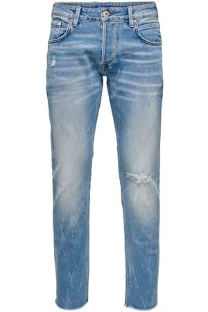 Only Onmgreg Slim Fit Jeans Heren Blauw