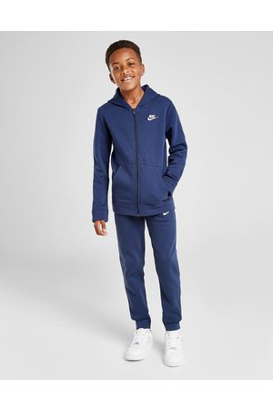 Nike Sportswear Fleece Tracksuit Junior, Blauw