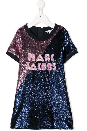The Marc Jacobs Kids Sequin embroidered dress