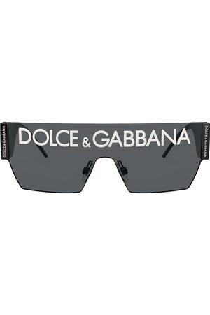 Dolce & Gabbana Heren Zonnebrillen - Chunky logo sunglasses