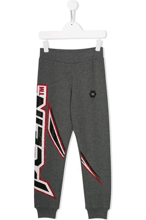 Philipp Plein Space Plein track trousers