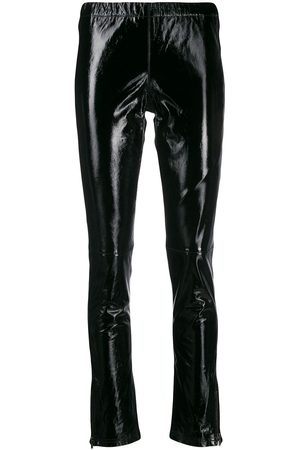 P.a.r.o.s.h. Fitted leather trousers
