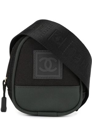 CHANEL Sports Line logo patch belt bag