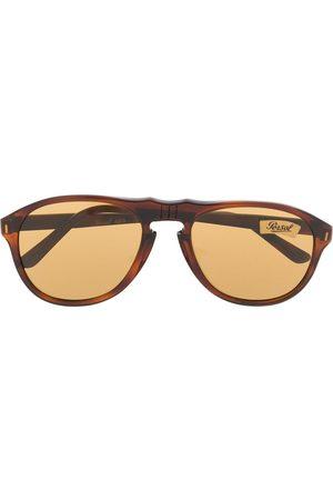 Persol 1970's aviator tinted sunglasses