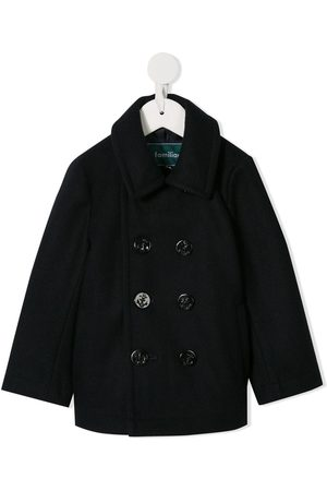 Familiar Classic double-breasted coat