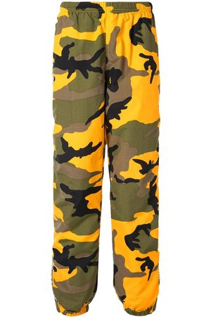 Supreme Warm up camouflage trousers