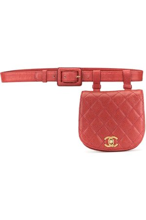 CHANEL Diamond quilted CC belt bag